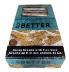 GO BETTER HONEY SESAME/FLAX SEED BAR 35G  24/BOX