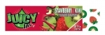 JUICY JAY STRAWBERRY KIWI - HEMP ROLLING PAPERS 1.25  24/B