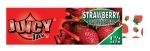 JUICY JAY STRAWBERRY - HEMP ROLLING PAPERS 1.25  24/BX