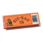 !NEW! ZIG ZAG ORANGE 1-1/4 SLOW BURN 25/BX